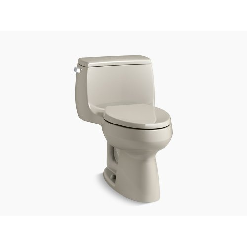 Sandbar Comfort Height One-piece Elongated 1.28 Gpf Toilet With Class Five Flushing Technology and Left-hand Trip Lever
