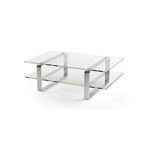 Bdi FurnitureCoffee Table 1642 in Clear Glass