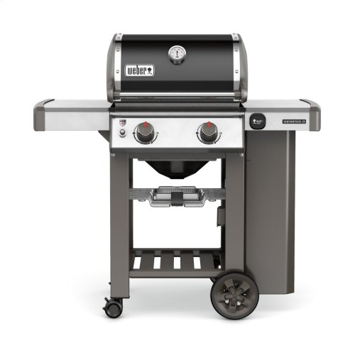 Genesis II E-210 Gas Grill Black LP
