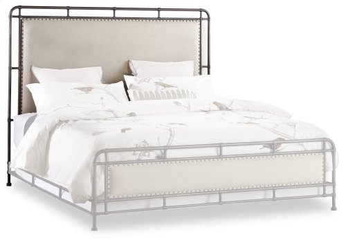 Bedroom Studio 7H Slumbr King Metal Upholstered Bed