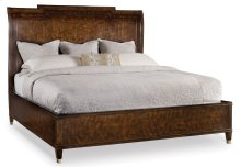 Bedroom Skyline King Sleigh Bed with Low Footboard