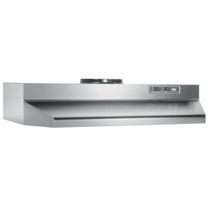 BroanBroan® 30-Inch Under-Cabinet Range Hood w/ Easy Install System, 190 CFM, Stainless Steel