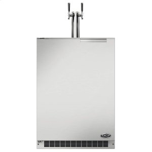 "Dcs24"" Outdoor Beer Dispenser - Dual Tap"