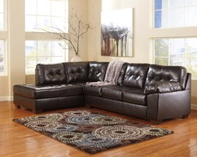 Alliston DuraBlend® - Chocolate 2 Piece Sectional