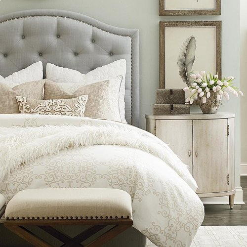 Custom Uph Beds Florence Queen Clipped Corner Bed