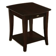 Enclave Rectangular Drawer End Table