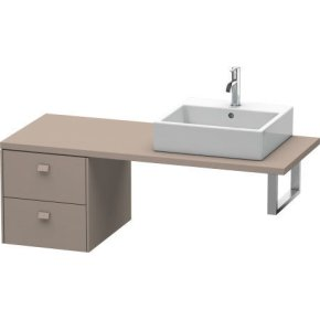 Brioso Low Cabinet For Console, Basalt Matt (decor)