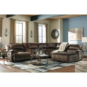 Ashley Furniture Clonmel - Chocolate 3 Piece Sectional