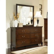 Tatiana Transitional Six-drawer Dresser