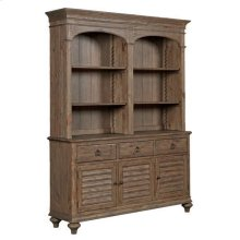 Weatherford Heather Hastings Open Hutch/Buffet Complete