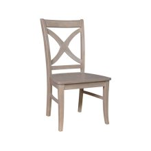 Salerno Chair in Taupe Gray
