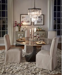 Adele Dining Chair Stone Linen