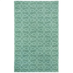 Lyrical Silver Green Hand Knotted Rugs