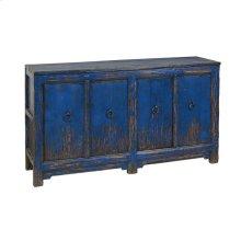 Amherst 4Dr Buffet Antique Blue