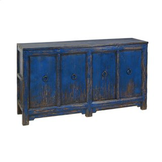 Amherst 4Dr Buffet Antique Blue