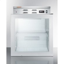 Single Chamber Compact Warming Cabinet With Glass Door, Digital Thermostat, and Lock