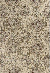 "Bob Mackie Home Vintage 1319 Sand Mosaic 5'3"" X 7'7"""