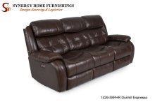 1429 Coventry Sofa- Chocolate w/ PHR
