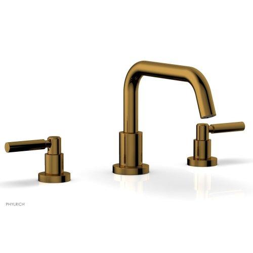 BASIC Deck Tub Set - Lever Handles D1132D - French Brass