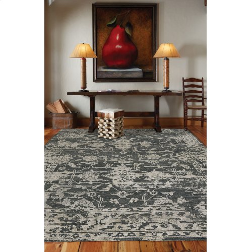 Makrana Charcoal Hand Knotted Rugs