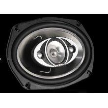 "6 x 9"" four-way speakers"