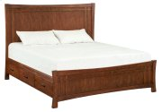 DAO Prairie City King Panel Storage Bed Product Image