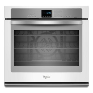 Gold® 5.0 cu. ft. Single Wall Oven with SteamClean Option - WHITE ICE