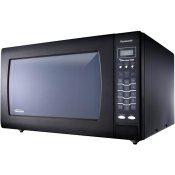 Luxury Full-Size 2.2 cu. ft Genius Countertop Microwave Oven with Inverter Technology, Black NN-SN968B