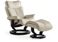 Stressless Magic Small Classic Base Chair and Ottoman Product Image