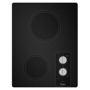 15-inch Electric Cooktop with Easy Wipe Ceramic Glass -