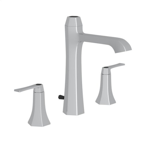 Polished Chrome Bellia High Neck Widespread Lavatory Faucet