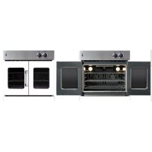 Residential Wall Oven, French Door Wall Oven , White Color