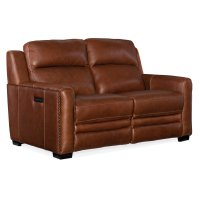 Living Room Lincoln Power Recline Loveseat w/Power Headrest&Lumbar Rec Product Image
