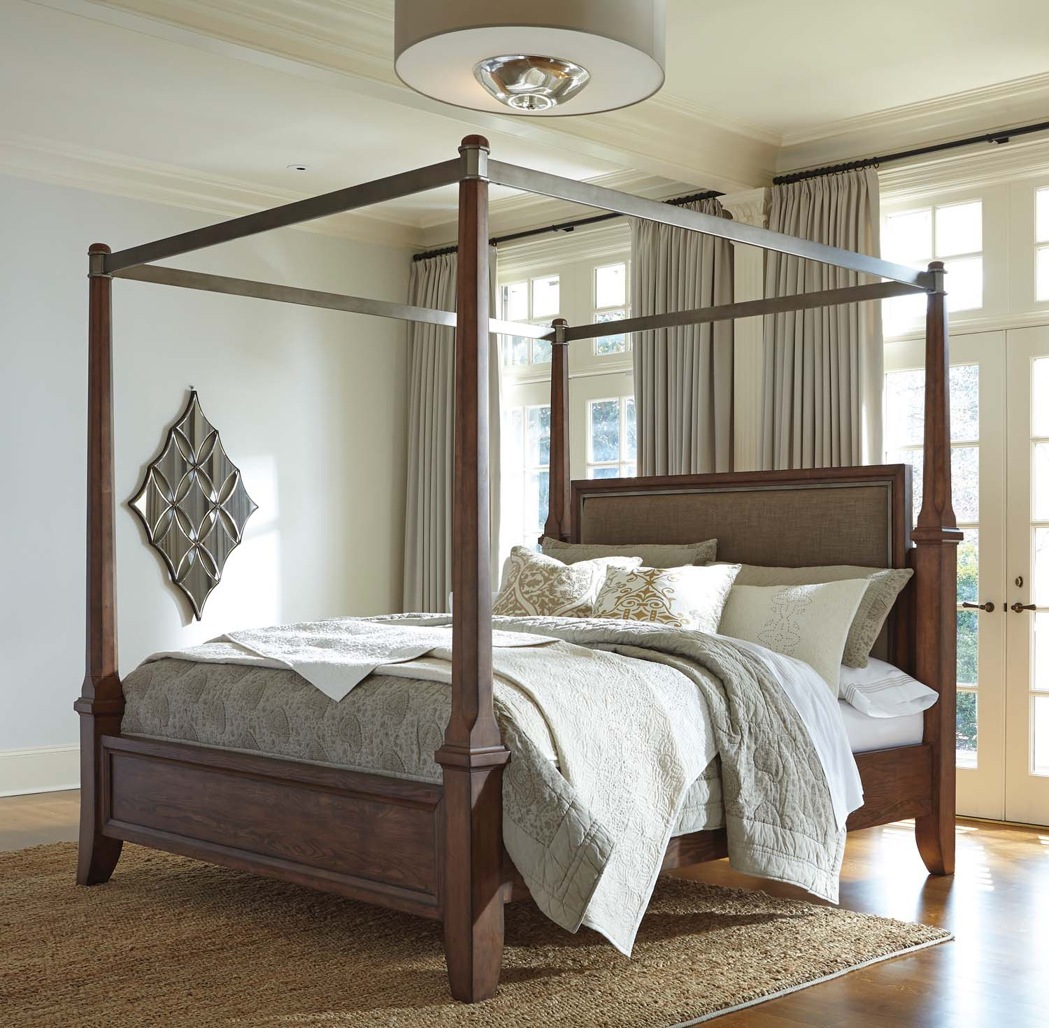 King/California King Canopy & B64662 in by Ashley Furniture in Tucson AZ - King/California King ...