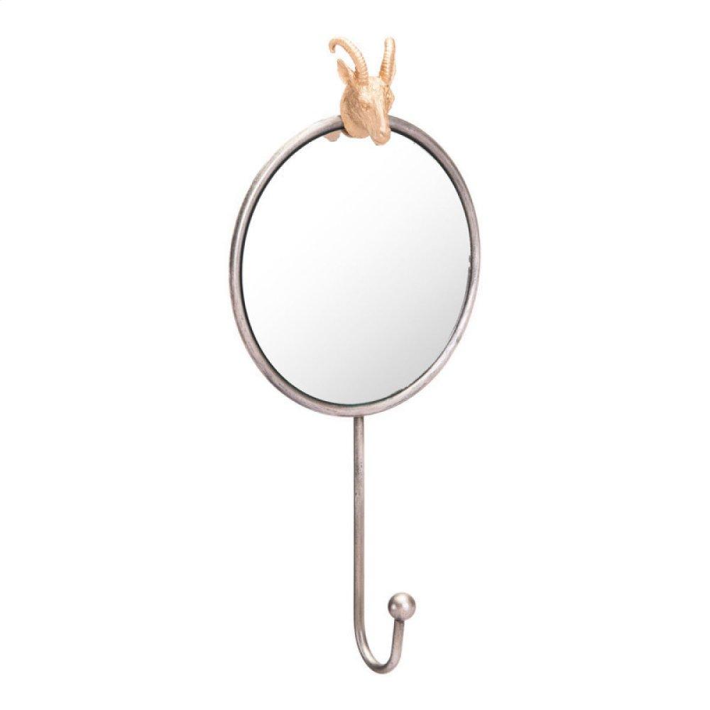 Rabbit Mirror Antique