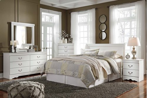 Anarasia - White 2 Piece Bedroom Set