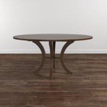 "Custom Dining 60"" Wood Table w/Atlas Base"