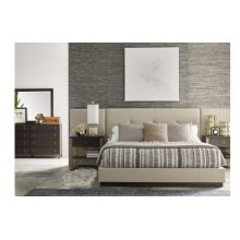 Austin by Rachael Ray Upholstered Wall Bed w/Panels, CA King 6/0