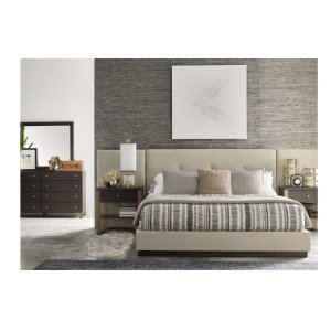 LEGACY CLASSIC FURNITUREAustin by Rachael Ray Upholstered Wall Bed w/Panels, King 6/6