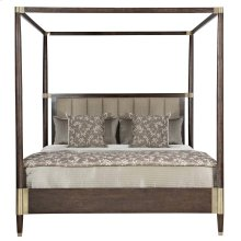 King-Sized Clarendon Canopy Bed in Arabica (377)
