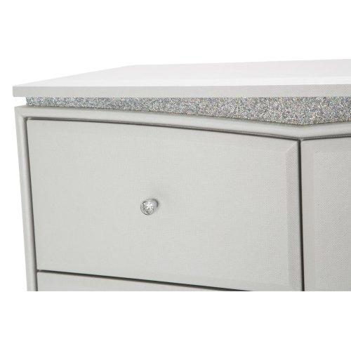 Upholstered 5 Drawer Chest
