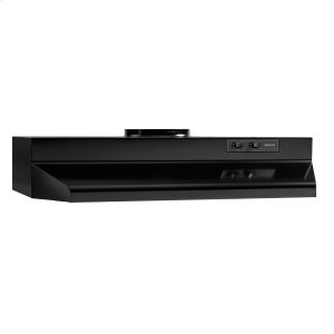 BroanBroan® 30-Inch Under-Cabinet Range Hood, Black