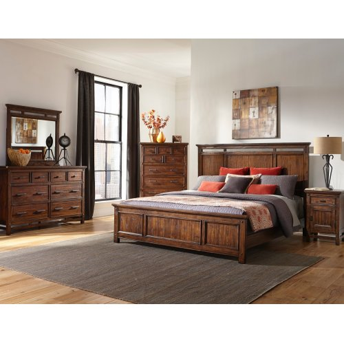 Wolf Creek One Drawer Nightstand