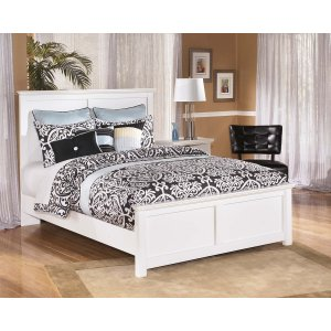 Ashley Furniture Bostwick Shoals - White 3 Piece Bed Set (Queen)