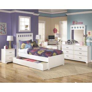 AshleySIGNATURE DESIGN BY ASHLEYLulu - White 3 Piece Bed Set (Twin)