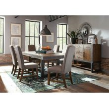Atwater Industrial Grey Parsons Chair