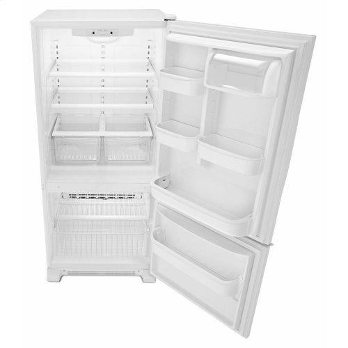 29-inch Wide Bottom-Freezer Refrigerator with Garden Fresh Crisper Bins -- 18 cu. ft. Capacity - White
