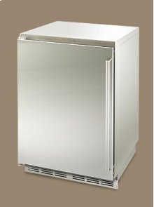 "24"" inch outdoor refrigeration shown with left side hinge."