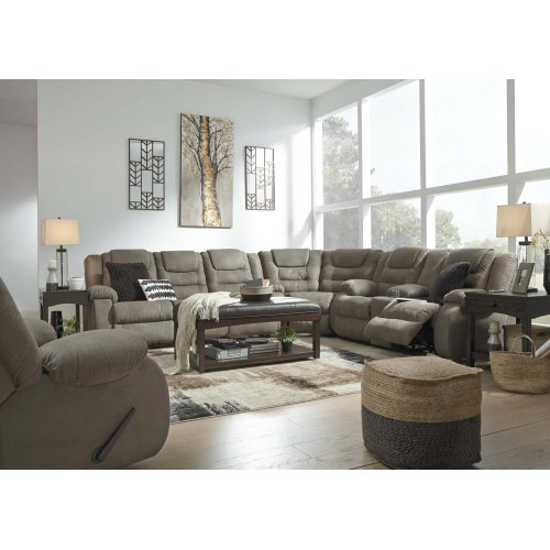 Segburg - Cobblestone 3 Piece Sectional