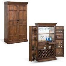 Savannah Traditional Bar Armoire
